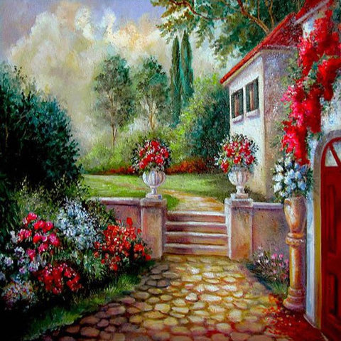 Image of Rest House - DIY Diamond Painting