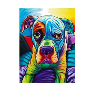 Dog Pop Art #9 - DIY Diamond Painting