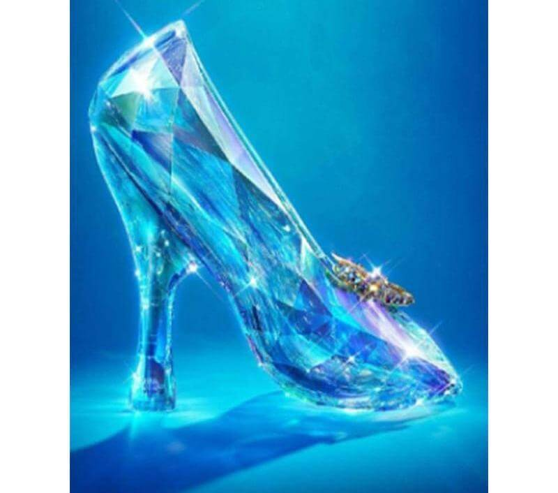 Crystal Shoes - DIY Diamond Painting