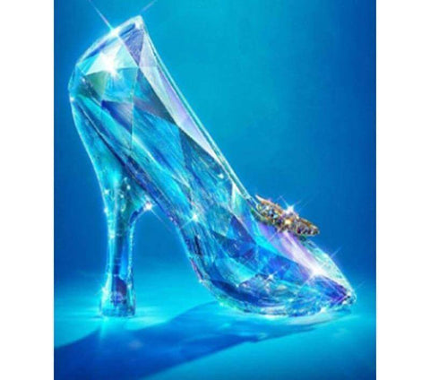 Image of Crystal Shoes - DIY Diamond Painting