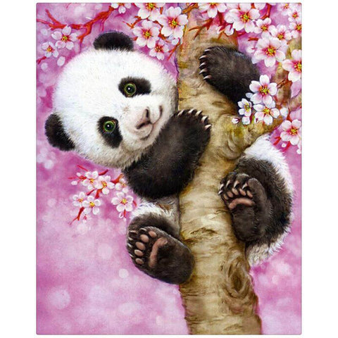 Image of painting of panda