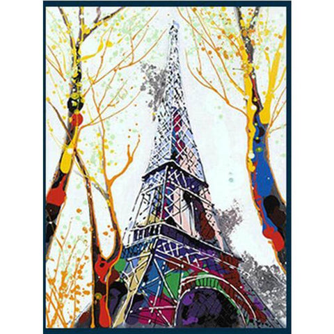 Image of Paris Eiffel Tower - DIY Diamond Painting