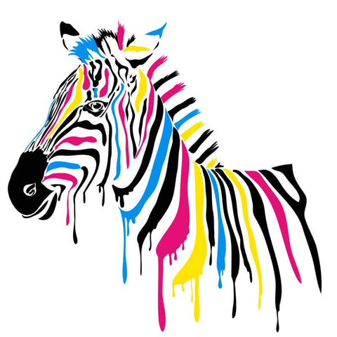 Image of Zebra - DIY Diamond Painting