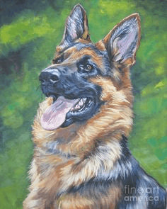 German Shepherd Dog - DIY Diamond Painting