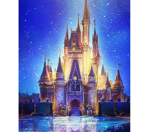 Image of paint with diamonds disney
