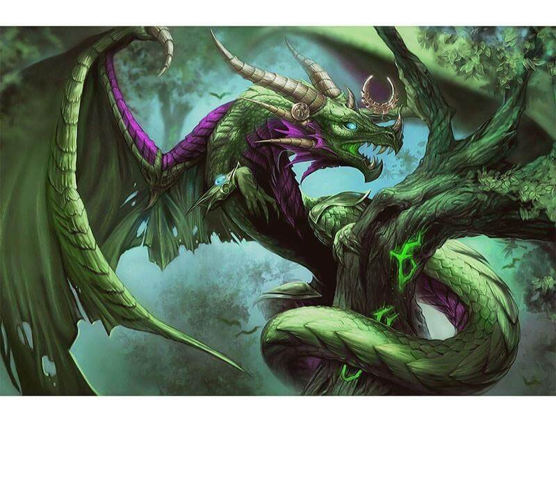 Green Dragon - DIY Diamond Painting