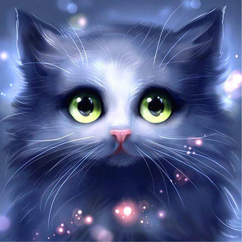 Image of Cute Cat - DIY Diamonds Painting
