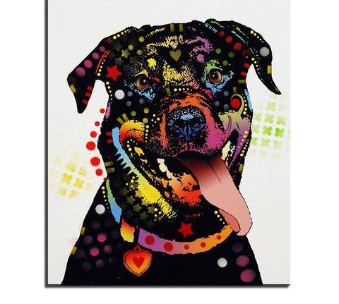 Image of dog diamond painting kits