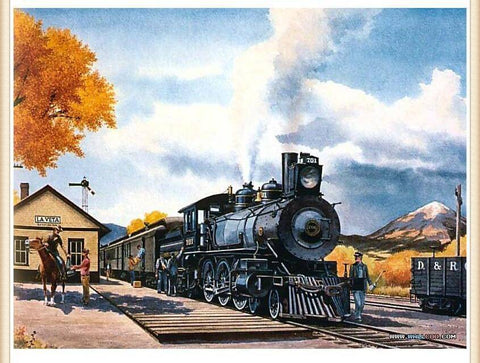 Image of Classic Train - DIY Diamond Painting