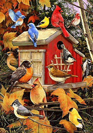 Birds House - DIY Diamond Painting
