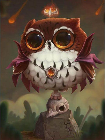 Image of Fat Owl - DIY Diamond Painting
