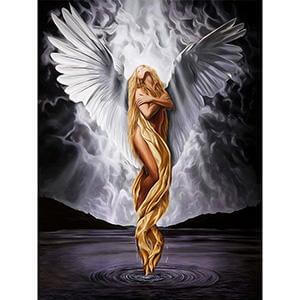 Image of Floating Angel - DIY Diamond Painting