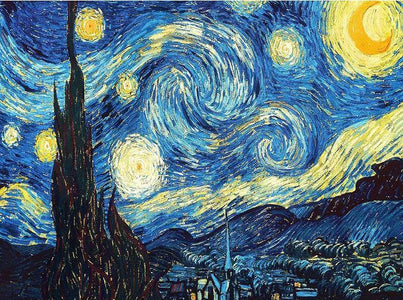 starry night painting