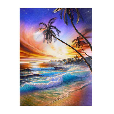 Image of Seashore View - DIY Diamond Painting