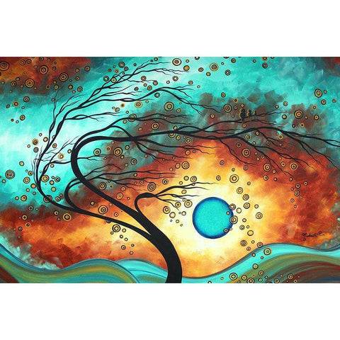 Image of abstract tree painting