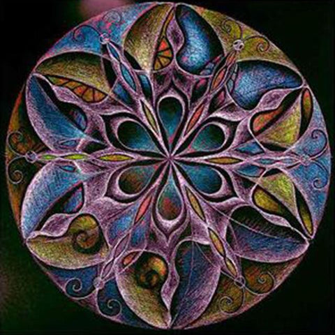 Image of Mandala #13 - DIY Diamond  Painting
