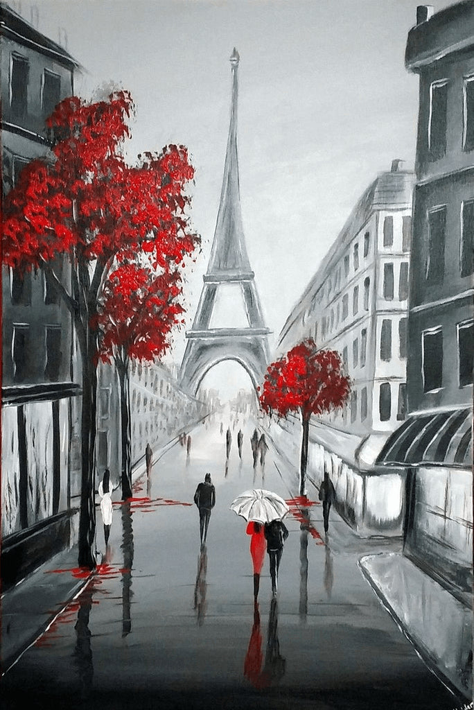 Paris Street View - DIY Diamond Painting