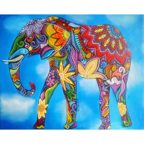 Mandala Elephant - DIY Diamond Painting