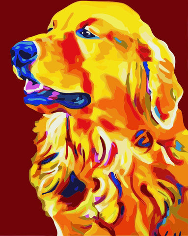Image of Labrador - DIY Painting By Numbers