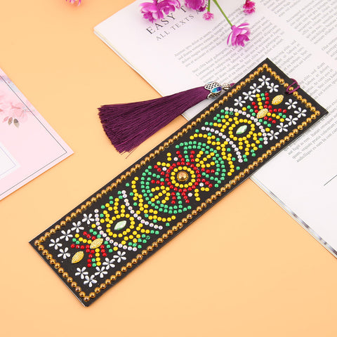 Abstract #2 - Diamond Painting Bookmark