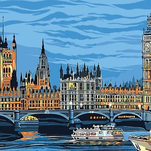 Big Ben - DIY Painting By Numbers
