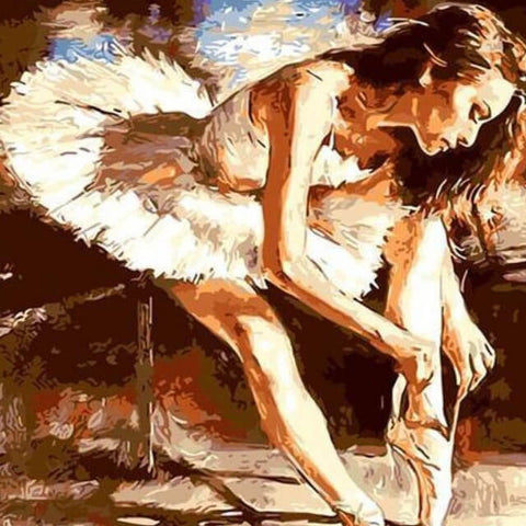 Ballet Dancer - DIY Painting By Numbers
