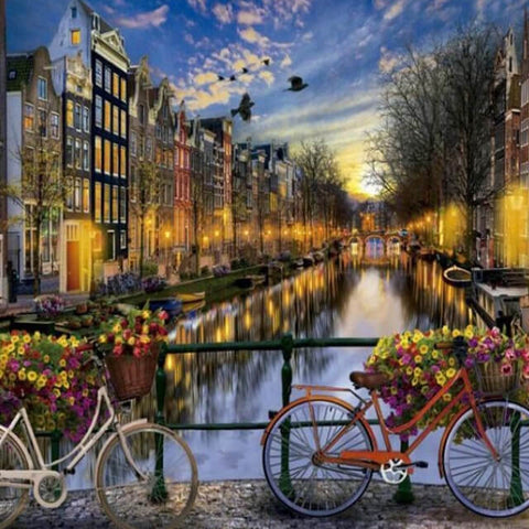 Amsterdam - DIY Painting By Numbers