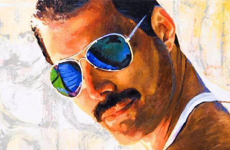 Freddie Mercury - DIY Diamond Painting