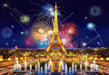 Fireworks Display in Paris - DIY Diamond Painting