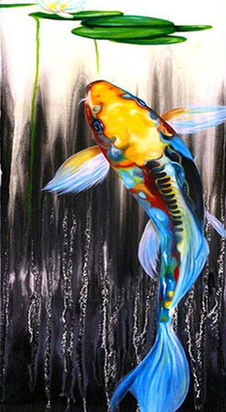 Colorful Fish - DIY Diamond Painting