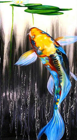 Image of Colorful Fish - DIY Diamond Painting