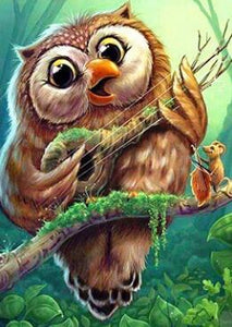 Singing Owl - DIY Diamond Painting