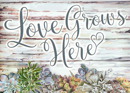 Love Grows Here - DIY Diamond Painting