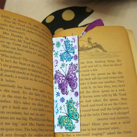Butterfly - Diamond Painting Bookmark