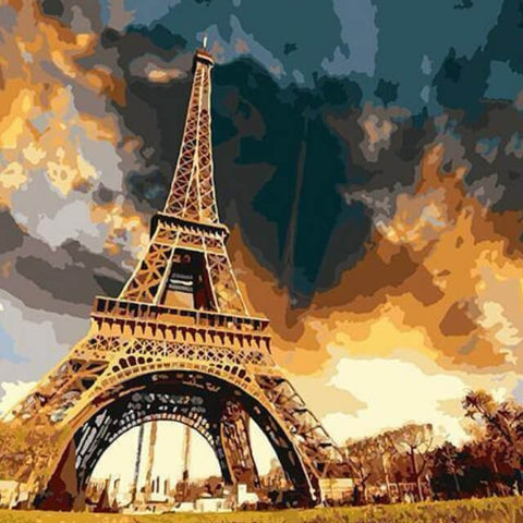 Image of Eiffel Tower - DIY Painting By Numbers
