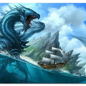 Dragon in the Sea - DIY Diamond Painting