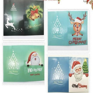 diamond painting christmas cards