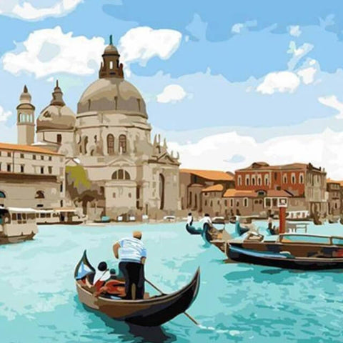 Image of Venice - DIY Painting By Numbers