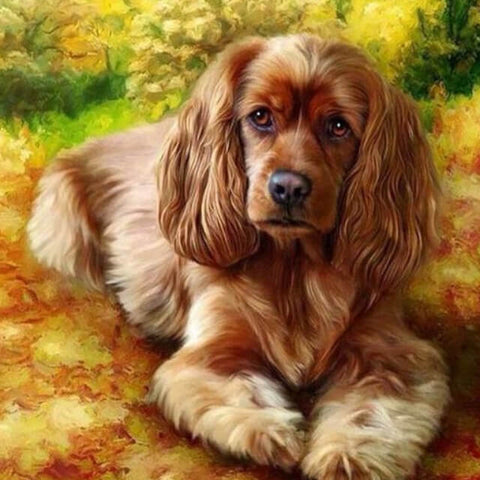 Image of Dog - DIY Painting By Numbers