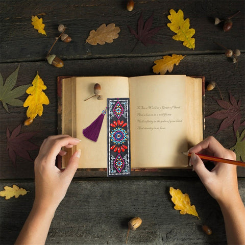 Mandala - Diamond Painting Bookmark