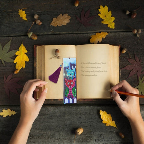 Image of The Bestfriends - Diamond Painting Bookmark