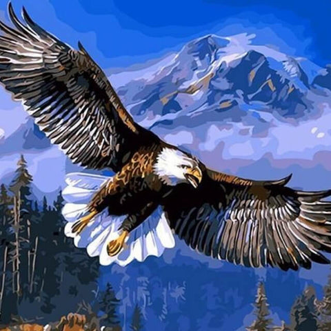 Image of Flying Eagle - DIY Painting By Numbers