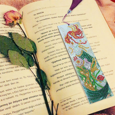Lovely Mermaid - Diamond Painting Bookmark