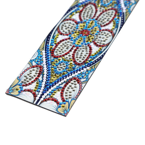 Image of Blue Flower - Diamond Painting Bookmark