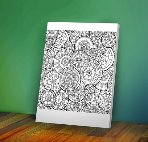 Image of Circles -  Coloring Canvas