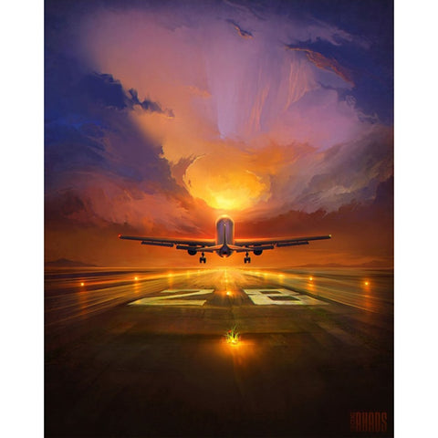 Image of airplane paintings