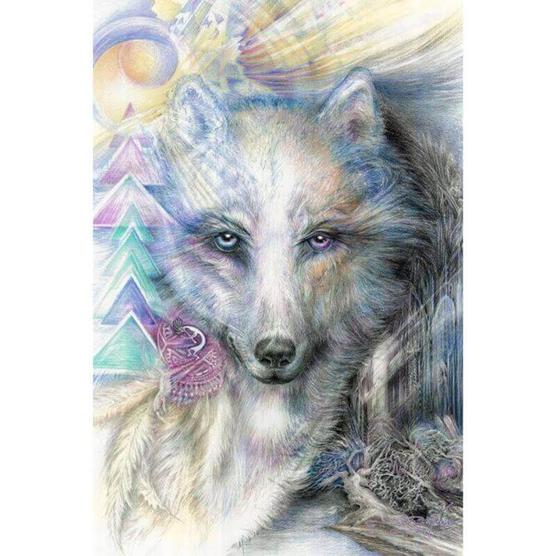 Beautiful Wolf - DIY Diamond Painting