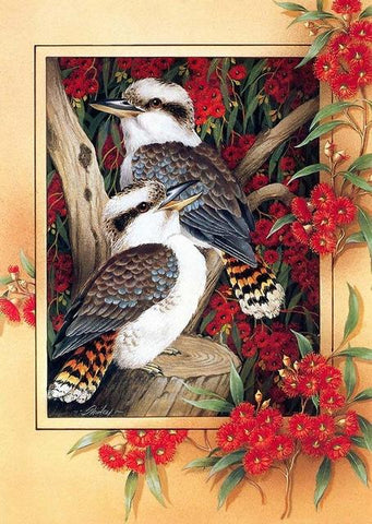 Image of Birds on a Tree -DIY Diamond Painting