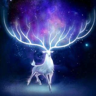 Image of Glowing Deer - DIY Diamond Painting