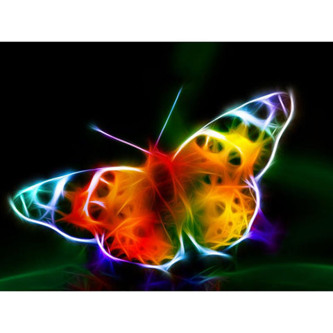 Image of Colorfoul butterfly - DIY Diamond Painting